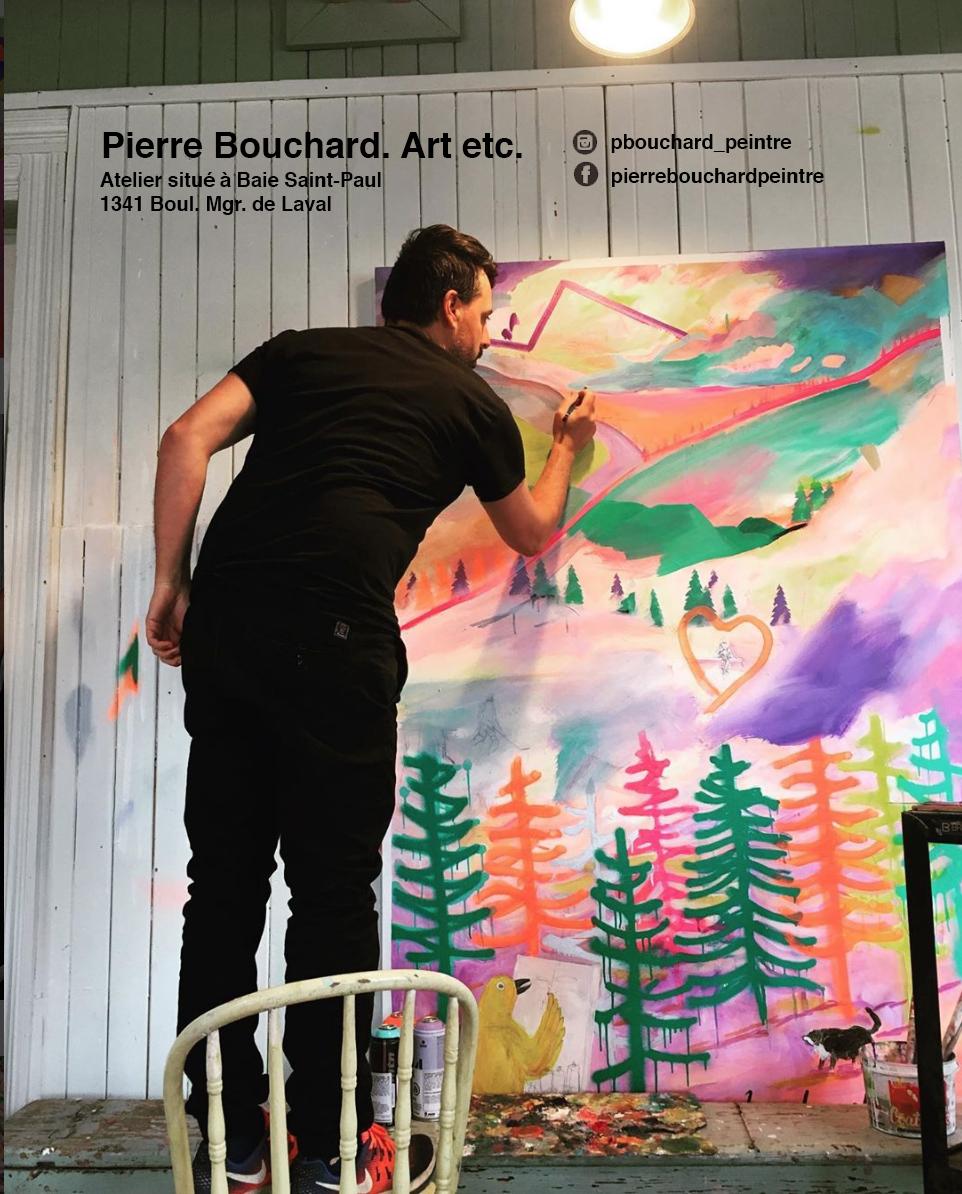 Pierre Bouchard peintre