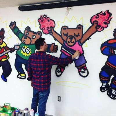 Murale dans les écoles