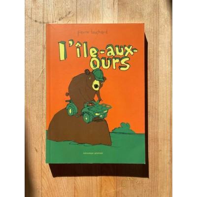 Bande dessinée L'île-aux-ours